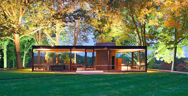 Philip Johnson The Glass House