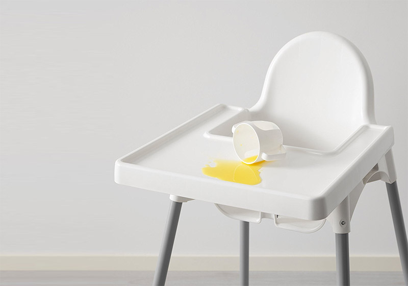 Minimalist High Chairs Feature