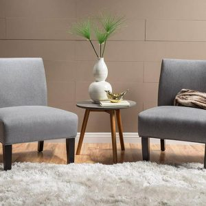 Minimalist Accent Chairs Feature