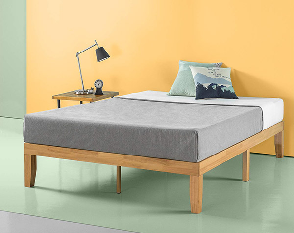 Minimalist Wooden Bed Frame 1