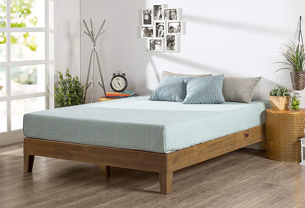 Minimalist Wooden Bed Frame 2