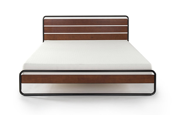 Minimalist Wooden Bed Frame 3