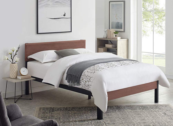 Minimalist Wooden Bed Frame 4