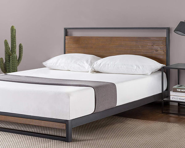 Minimalist Wooden Bed Frame 5