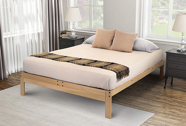 Minimalist Wooden Bed Frame 7