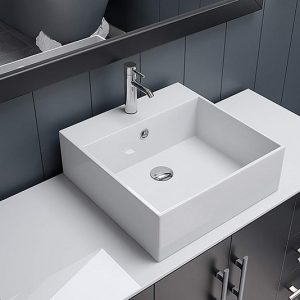 Minimalist Bathroom Vanities Feature