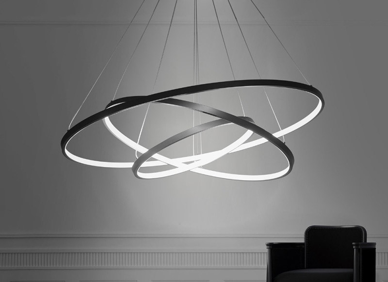 Minimalist Chandeliers Feature