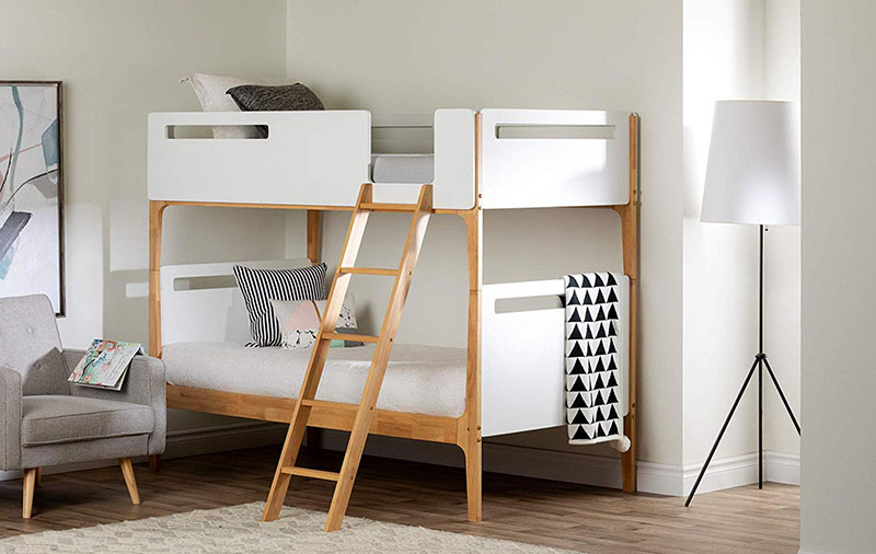 Admirable 9 Gorgeous Minimalist Bunk Beds For Your Home Minimal Daily Home Interior And Landscaping Mentranervesignezvosmurscom
