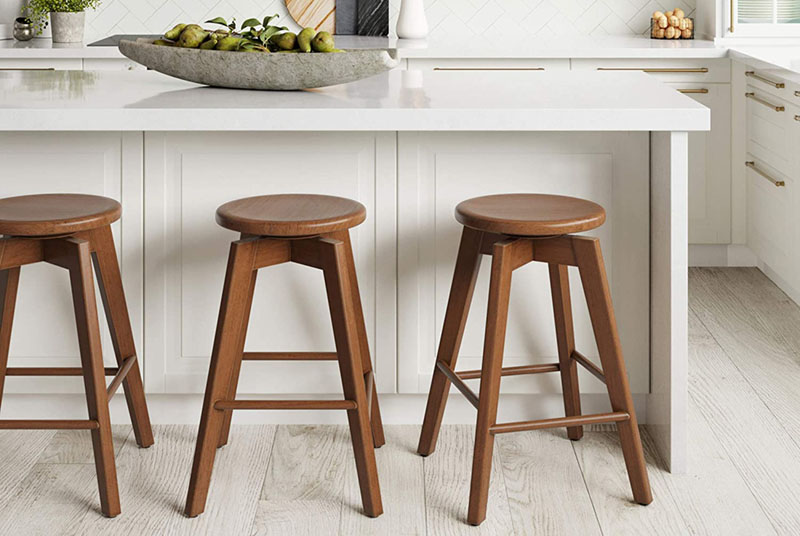 Minimalist Stools Feature