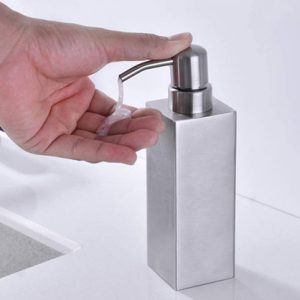 Minimalist Soap Dispenser Feature 1